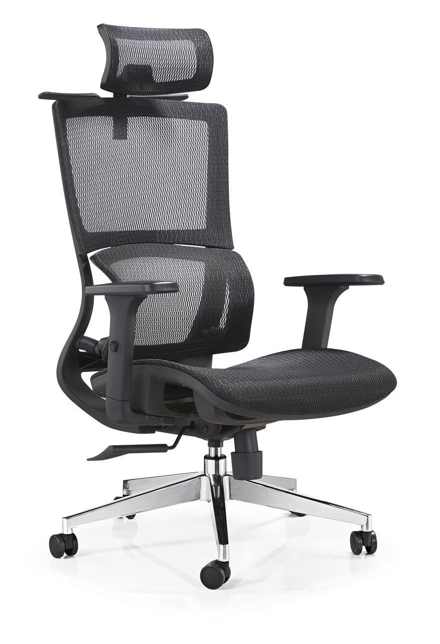 AS-D2056 **Office Chair with Adjustable Armrests Great for Corporations and Companies