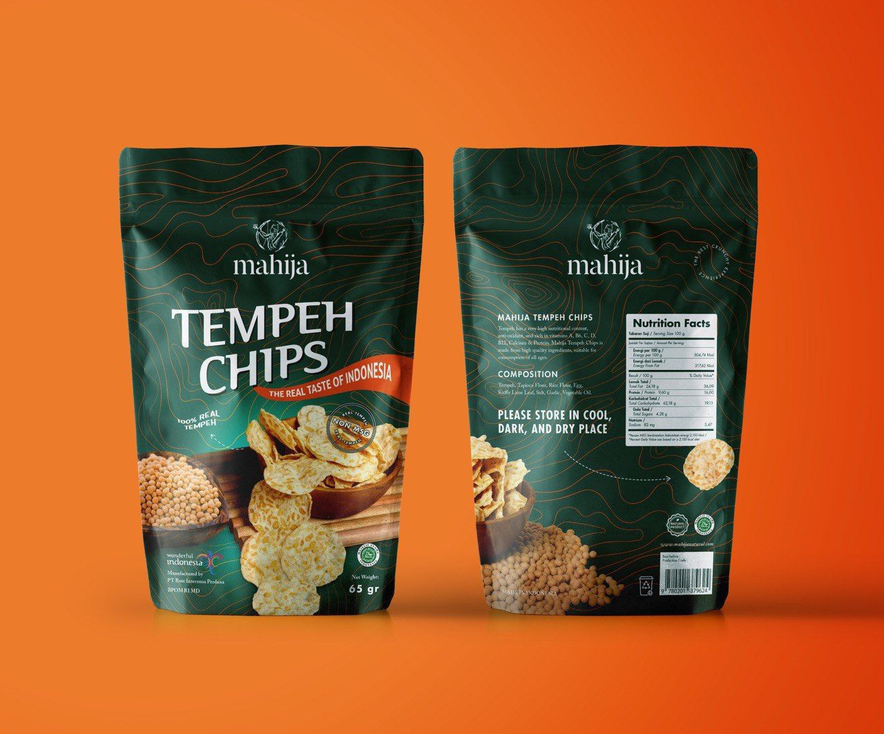 Mahija Tempeh Chips