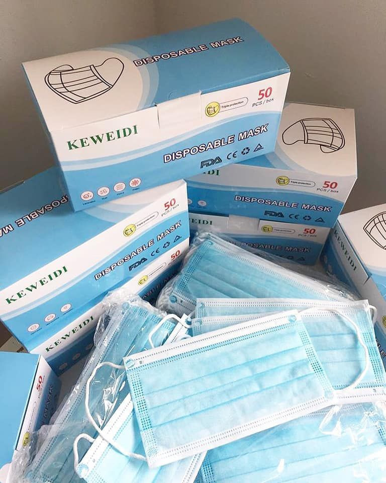 Nonwoven 3 ply Disposable Medical Face Mask