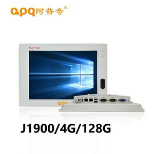 21.5 inch capacitive touch screen frameless touch screen monitor J1900/4G/128G