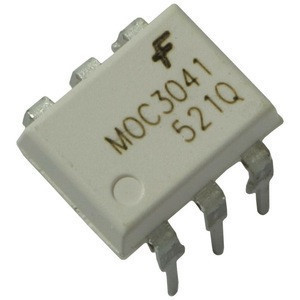(6-Pin DIP Zero-Cross Optoisolators Triac Driver Output) MOC3041