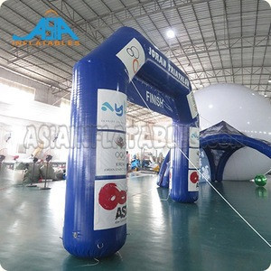 Advertising Inflatable Arch, Inflatable Race Arch, Start finish line inflatable entrance arch