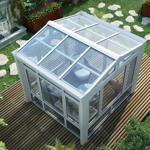 Aluminium sunroom / tempered glass house / aluminium glass room