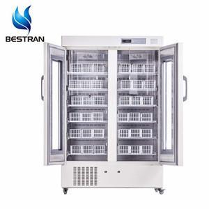 BT-4V658 Single glass door blood storage refrigerator clinical laboratory equipment