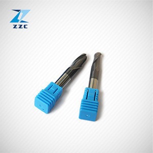 Carbide countersink tools 2 flutes medium cut length carbide end mill with internal coolant supply for deep counterboring