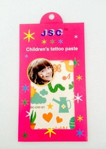 Cartoon Design Non-toxic Temporary Kids Sleeve Tattoos