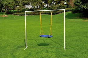 Comfortable and durable outdoor tree swing children round patio swings