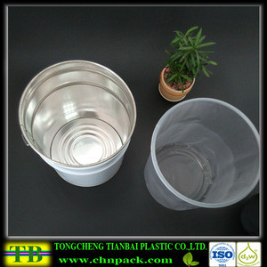 Custom Pail liners for plastic and steel pails