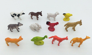Educational collection toy miniature farm animal model