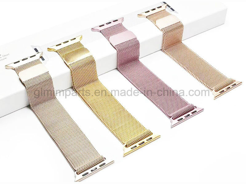 Fitbit Ionic Mesh Stainless Steel Watchband Silve Color