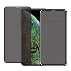 Full Cover Privacy Tempered Glass For iPhone 11 Pro Max XS Max XR 8 7 6s Plus Anti-Peeping Screen Protector Spy Glass Film