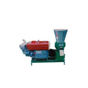 Homemade diesel biomass wood pellet making machine