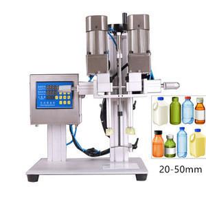 KA PACKING Semi Automatic alcohol/wine bottle /ropp capping machine plastic bottle