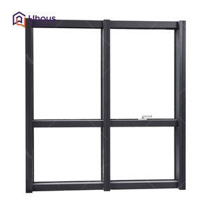Large glass aluminium curtain wall for house