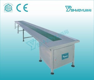 Latest product Flat Belt Conveyor With 6m /8m PVC Conveyor Belt