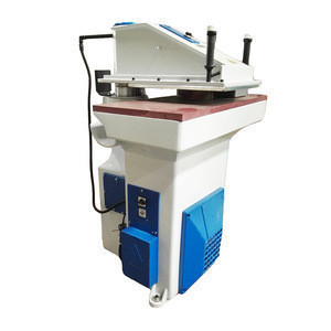 Leather pressing machine automatic hydraulic swing arm die cutting press for cutting leather,paper products,fabric,home textiles