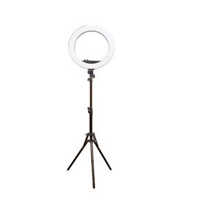 Mobile Phone Video Light  Dimmable Selfie LED Makeup Lamp Photography Ring Light With Phone Holder