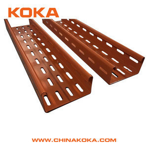 Perforated cable tray Pre-galvanized Steel cable tray manufacturers