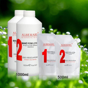 Premium Quality Albemarl best salon use cream Ceramic hair perm lotion for Color Treated Thin Delicate Hair