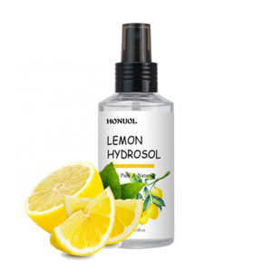 Private Label Lemon Essential Oil Spray 100% Pure and Natural Lemon Hydrosol for Body and Face