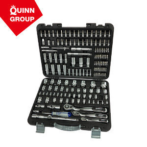 Quinnco 158-PC Tools for Auto Repair Use With Impact Resistant Case