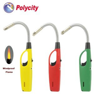RF-877 Bendable tube refillable torch kitchen lighter