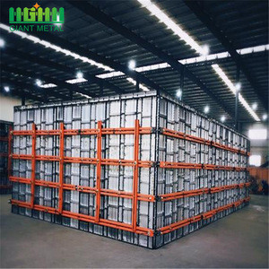 Simple and Easy to Clean Aluminum Panel Slab Formwork