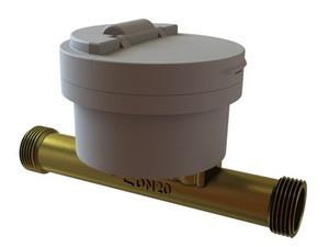 Smart Brass Water Meter Wifi