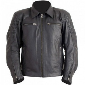 Super stylish motorbike Jacket/new blackish leather racers motorcycle jackets/high quality leather motorbike jackets