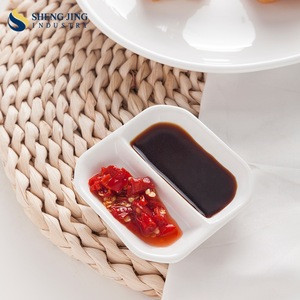 Tableware Brands Cheap Small Porcelain Soy Sauce Dish