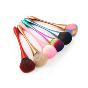 The Best Personalized Single Colorful Loose Container Blush Refillable Makeup Loose Powder Brush