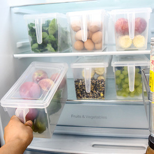 Top Quality Kitchen Fridge Refrigerator Storage Box Plastic Storage Box
