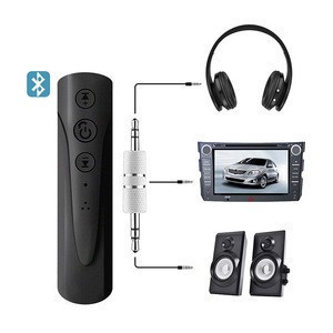 Universal Aux Bluetooth Receivers Bluetooth Transmitter 3.5mm jack Handsfree Auto Wireless Adapter Music Audio Bluetooth Car Kit