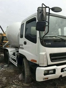 Used Isuzu Mixer Truck 6X4 with 9m3 Concrete Capacity for Sale