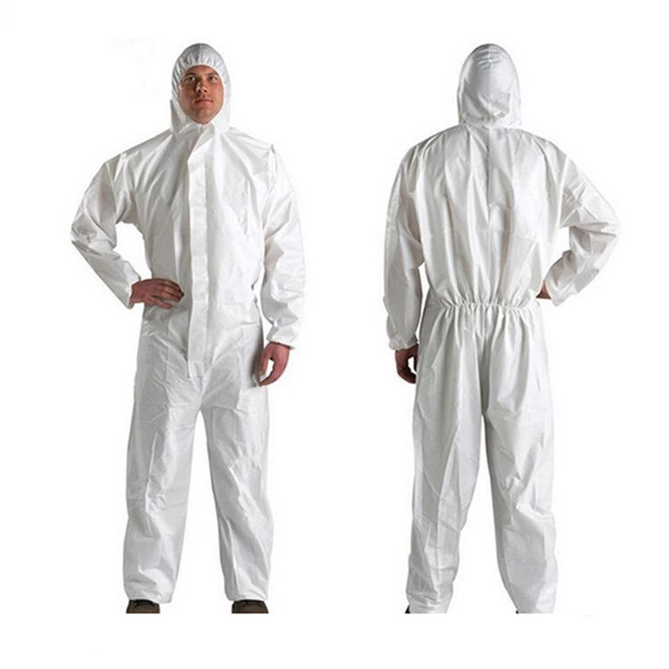High Quality SMS Chemical Protective Safety Suite/Clothing/Coverall