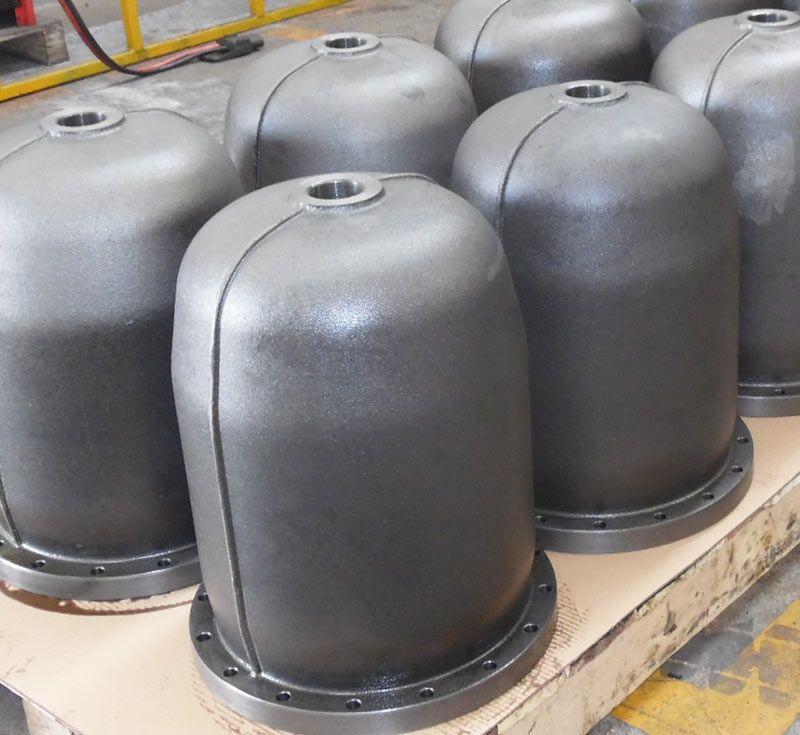 Screw Compressor oil separator housing