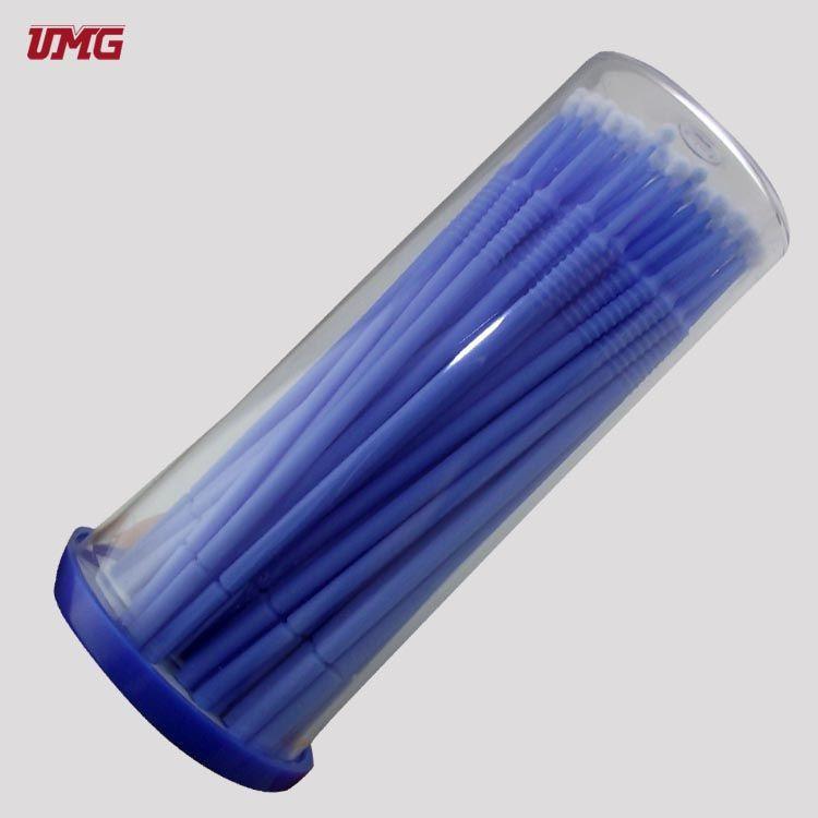 100 Pcs Micro Brush Disposable Dental Applicator Dental Bendable Stick