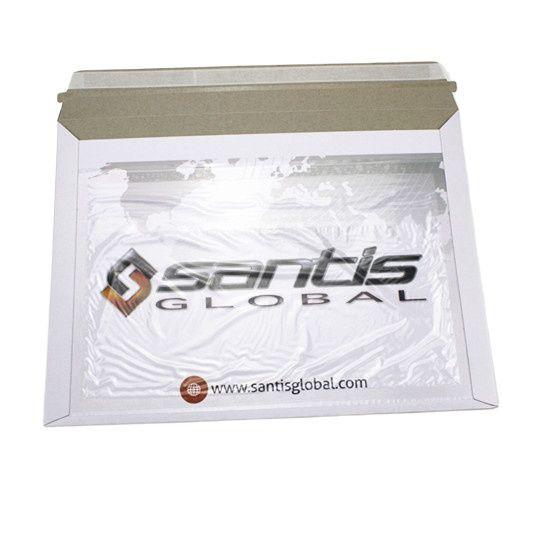 Envelopes Custom With Window Cardboard Packaging Envelope