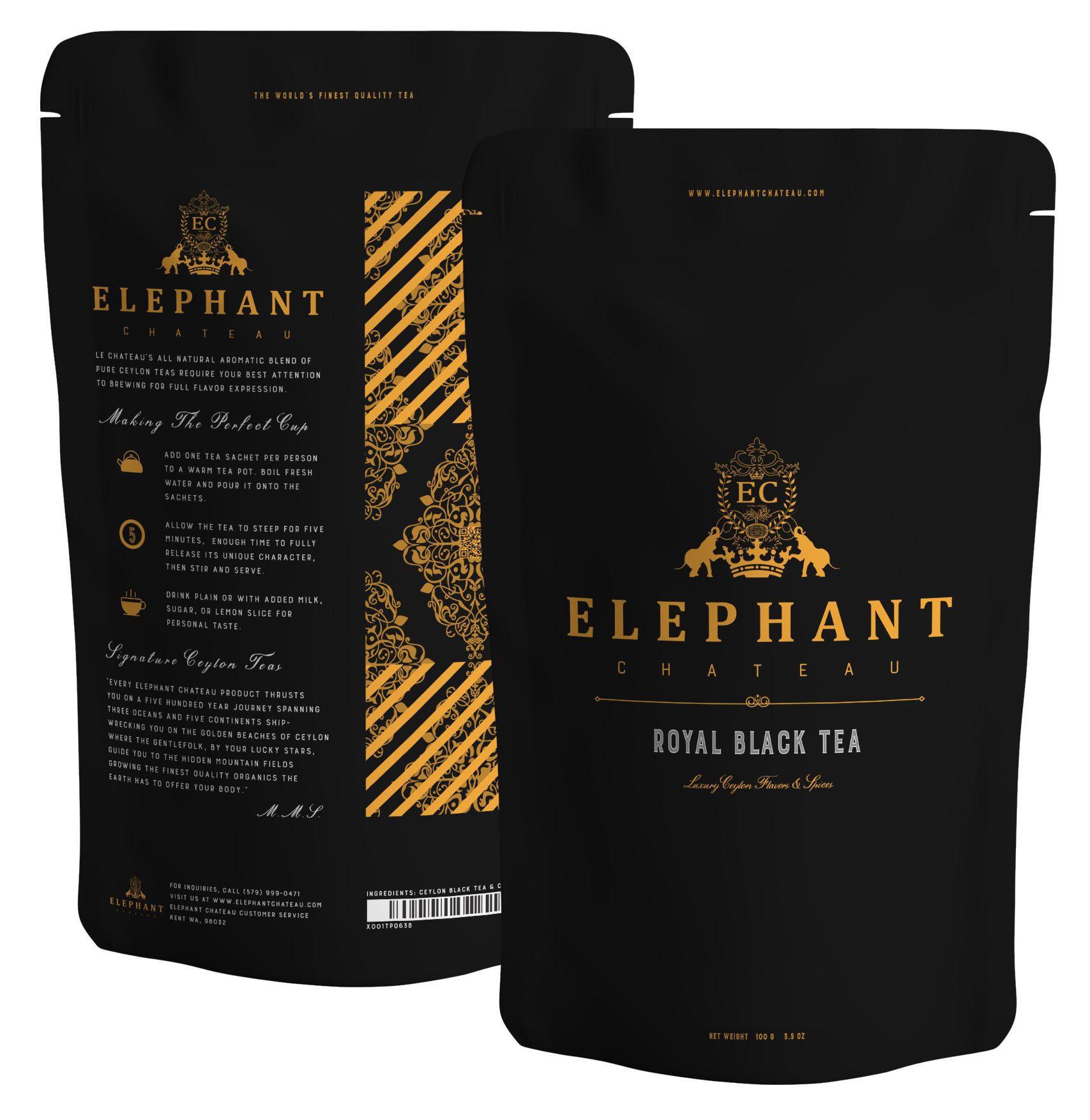 Royal Black Tea | Extra Special Ceylon Loose Leaf | English Breakfast | Smooth & Malty Teas | Aromatic Leaves
