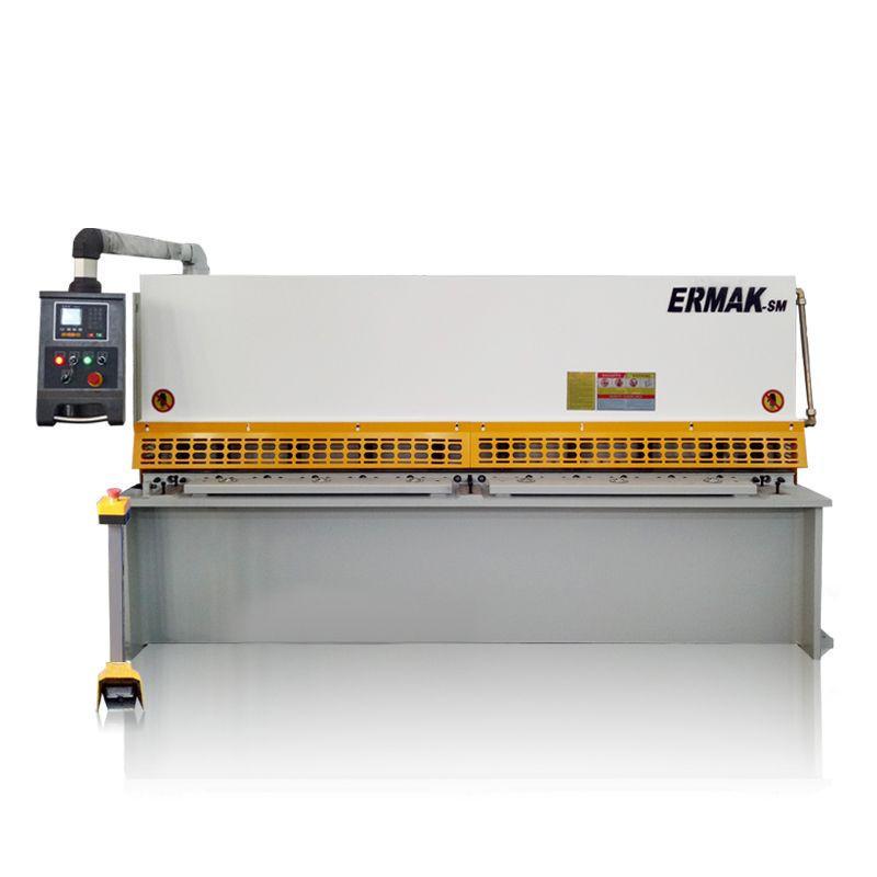 Low Price 4mm 5mm 6mm Stainless Steel Sheet Metal Plate Cutting Machine CNC Hydraulic Swing Beam Guillotine Shearing machine