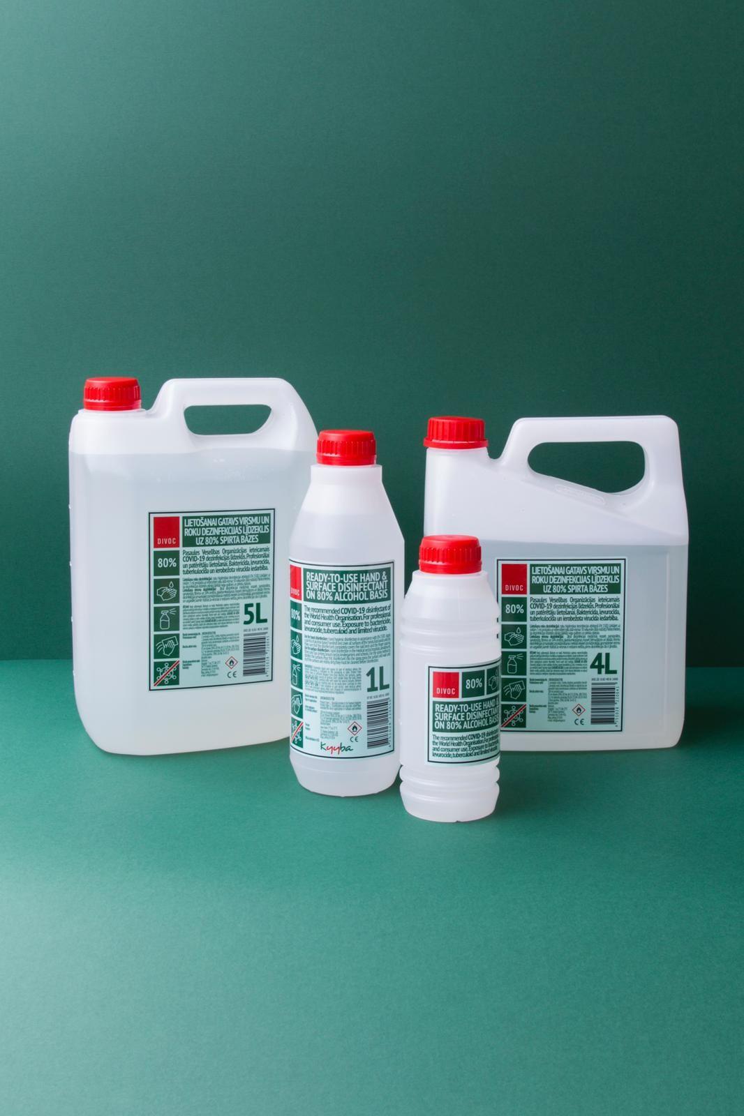 80% Alcohol Based Sanitizer // Liquid or Gel