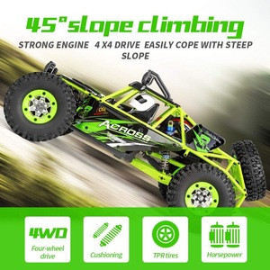 1/12 Scale 2.4G 4WD High Speed Electric All Terrain Off-Road Rock Crawler Climbing RC Cars for Kids and Adults