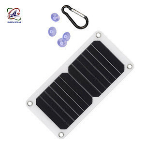 12v flexible solar powered portable battery charger