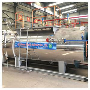 2018 Liquefied petroleum gas methane gas fired industrial high pressure steam boiler
