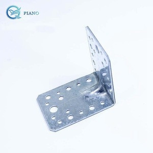 90 degree angle bracket galvanized steel for Furniture/industrial/construction, Wood connector