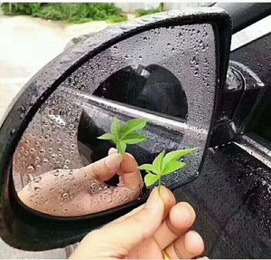 Anti rain film for car rearview mirror