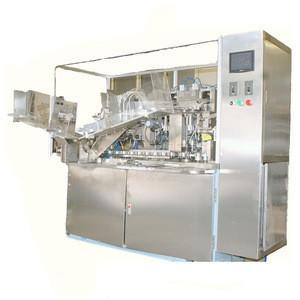 Automatic Shoe Polish Filling Sealing Machine