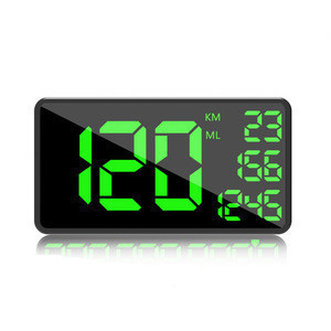 C1090 Big Display 6.2inch Universal Digital GPS Speedometer MPH Odometer for Car Hud