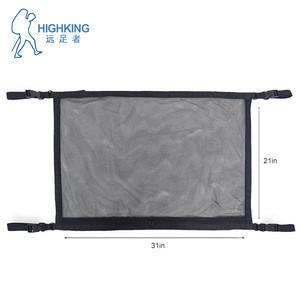 Car interior ceiling roof  mesh storage organizer luggage net