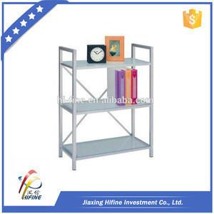 Colorful modern metal and glass bookshelf bookshelf for children modern metal and glass bookshelf